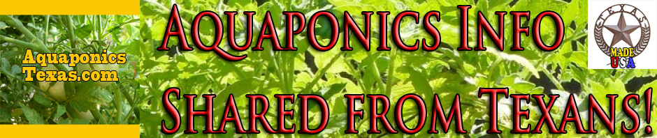 Aquaponics Texas-Hydroponics Without Chemicals!